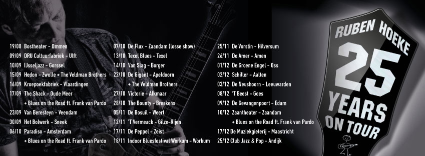 Ruben Hoeke 25 yrs tour