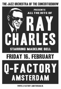 Poster Q-factory Ray Charles