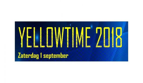 Yellow Blues 2018 aangepaste Banner