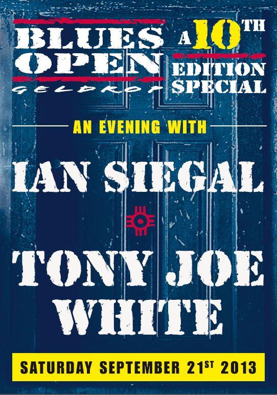Affiche 10th Anniversary Blues Open 21.09.13