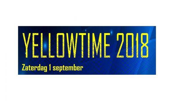 Yellow Blues 2018 aangepaste Banner