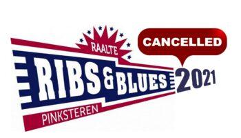 RIBS & BLUES 2021 CANCELLED VOOR DE SITE